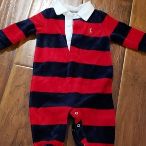 Ralph Lauren footie